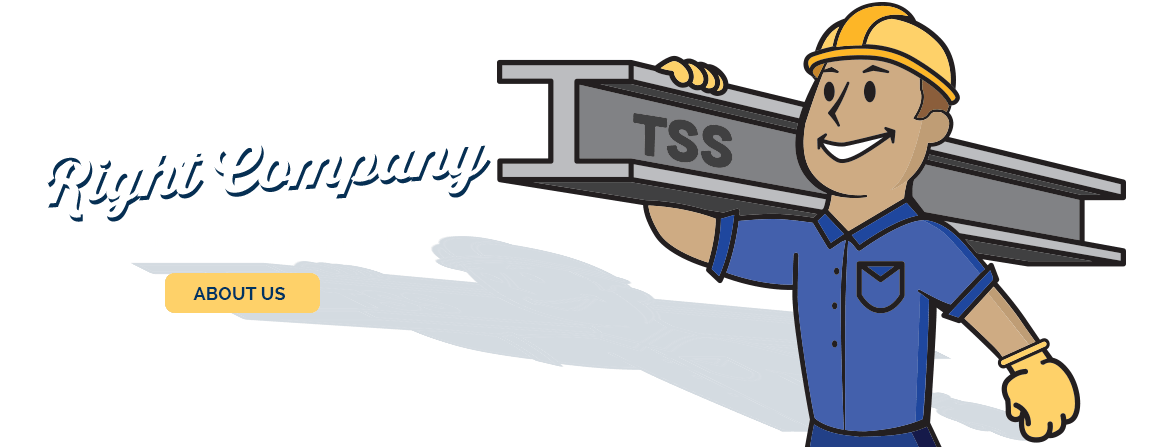 Right Metal. Right Time. Right Company. Learn more about Tampa Steel.